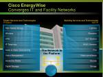 cisco energywise converges it and facility networks