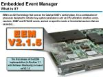 embedded event manager what is it
