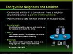 energywise neighbors and children