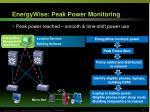 energywise peak power monitoring