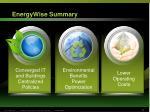 energywise summary