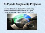 dlp pada single chip projector