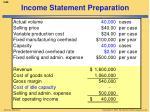 income statement preparation1