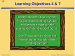 learning objectives 4 7