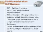 funktionsweise eines dlp beamers