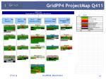 gridpp4 projectmap q411