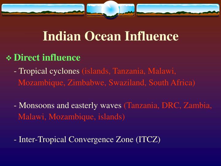 Indian Ocean Influence