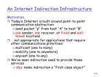 an internet indirection infrastructure