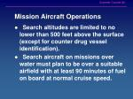 mission aircraft operations1