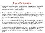 public participation1