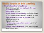 basic types of die casting1