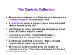 the controls collection