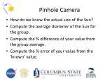 pinhole camera2