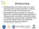 whiteboarding