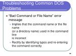 troubleshooting common dos problems2