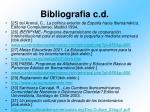 bibliografia c d2