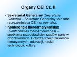 organy oei cz ii