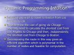 dynamic programming intuition