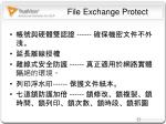 file exchange protect