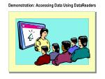 demonstration accessing data using datareaders