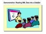 demonstration reading xml data into a dataset