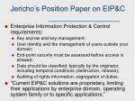 jericho s position paper on eip c