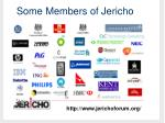 some members of jericho