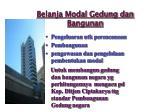belanja modal gedung dan bangunan