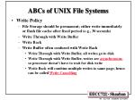 abcs of unix file systems1