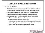 abcs of unix file systems2