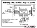 berkeley raid ii disk array file server