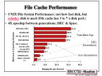 file cache performance