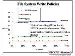 file system write policies1