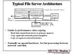 typical file server architecture