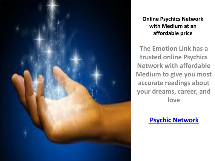 online psychics network with medium at an affordable price n.