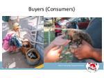 buyers consumers