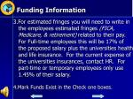 funding information1