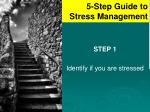 5 step guide to stress management