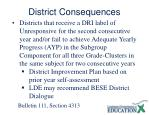 district consequences1