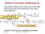 fattore correzione ambientale k 21