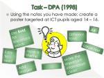 task dpa 1998