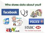 who stores data about you