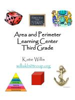 area and perimeter learning center third grade