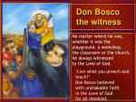don bosco the witness
