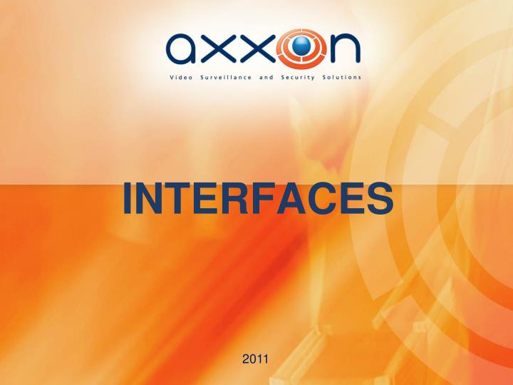interfaces n.