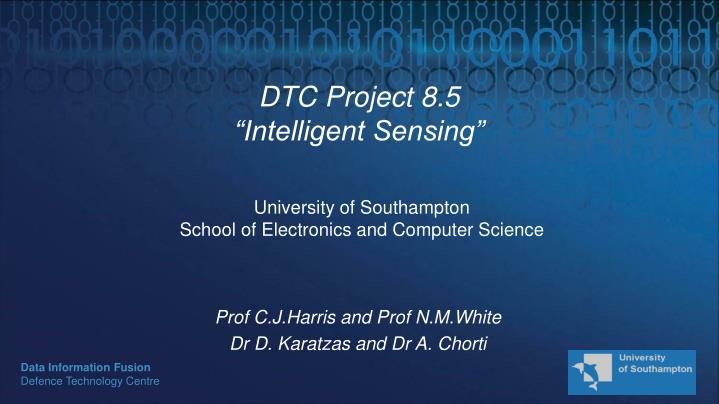 dtc project 8 5 intelligent sensing n.