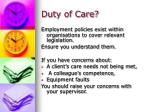 duty of care1