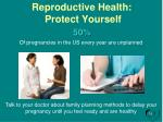 reproductive health protect yourself