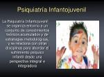 psiquiatr a infantojuvenil