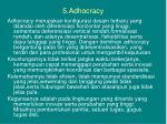 5 adhocracy